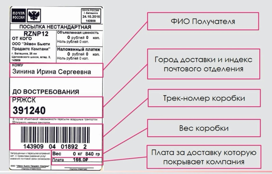 Как посмотреть по номеру заказа где находится посылка